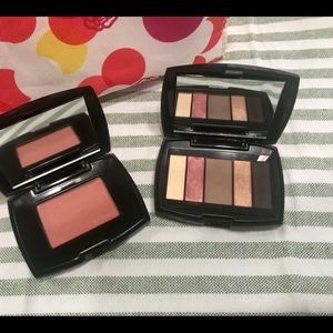 LANCÔME BLUSH AND EYESHADOW